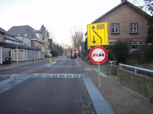 Horsterweg 8 sloop 1 voorkomen verkeershinder