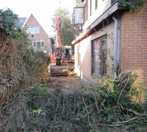 Horsterweg 8 sloop 6 eerst de tuin